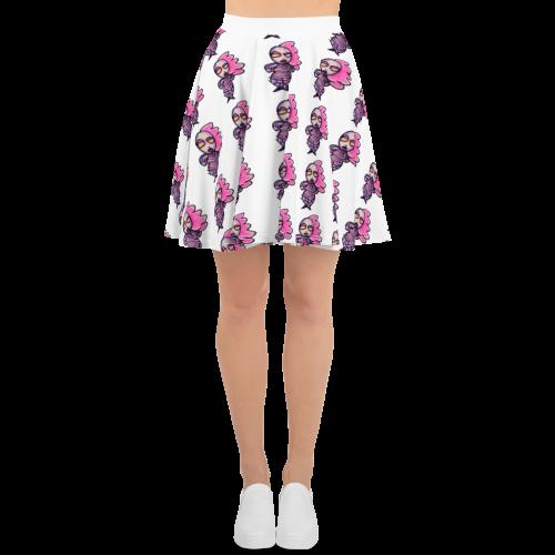 Robot Runway LadyBot Skater Skirt