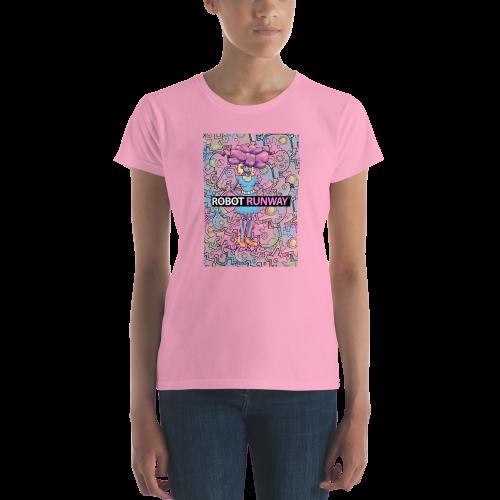 Robot Runway Women's short sleeve t-shirt