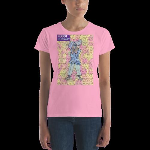 Robot Runway™ Sassybot Women's short sleeve t-shirt