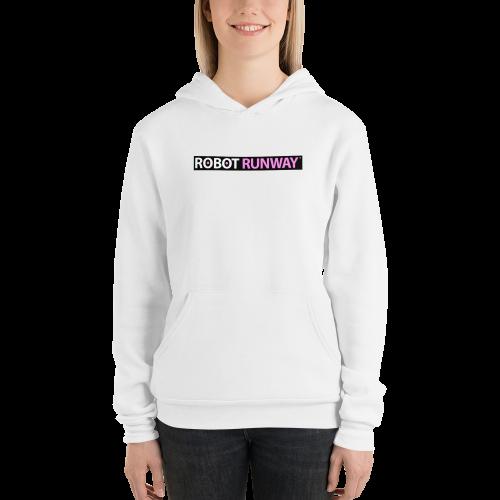 Robot Runway Unisex hoodie