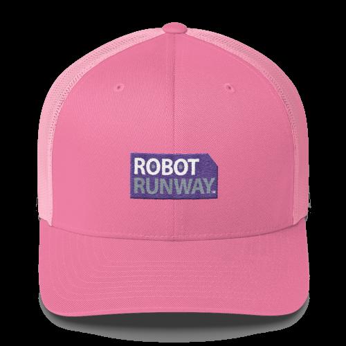 Robot Runway Trucker Hat