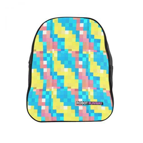Robot Runway™ Pixel Motif Backpack
