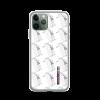 Robot Gifts Ideas - ROBOT RUNWAY Ladybot Black & White Motif iPhone Case